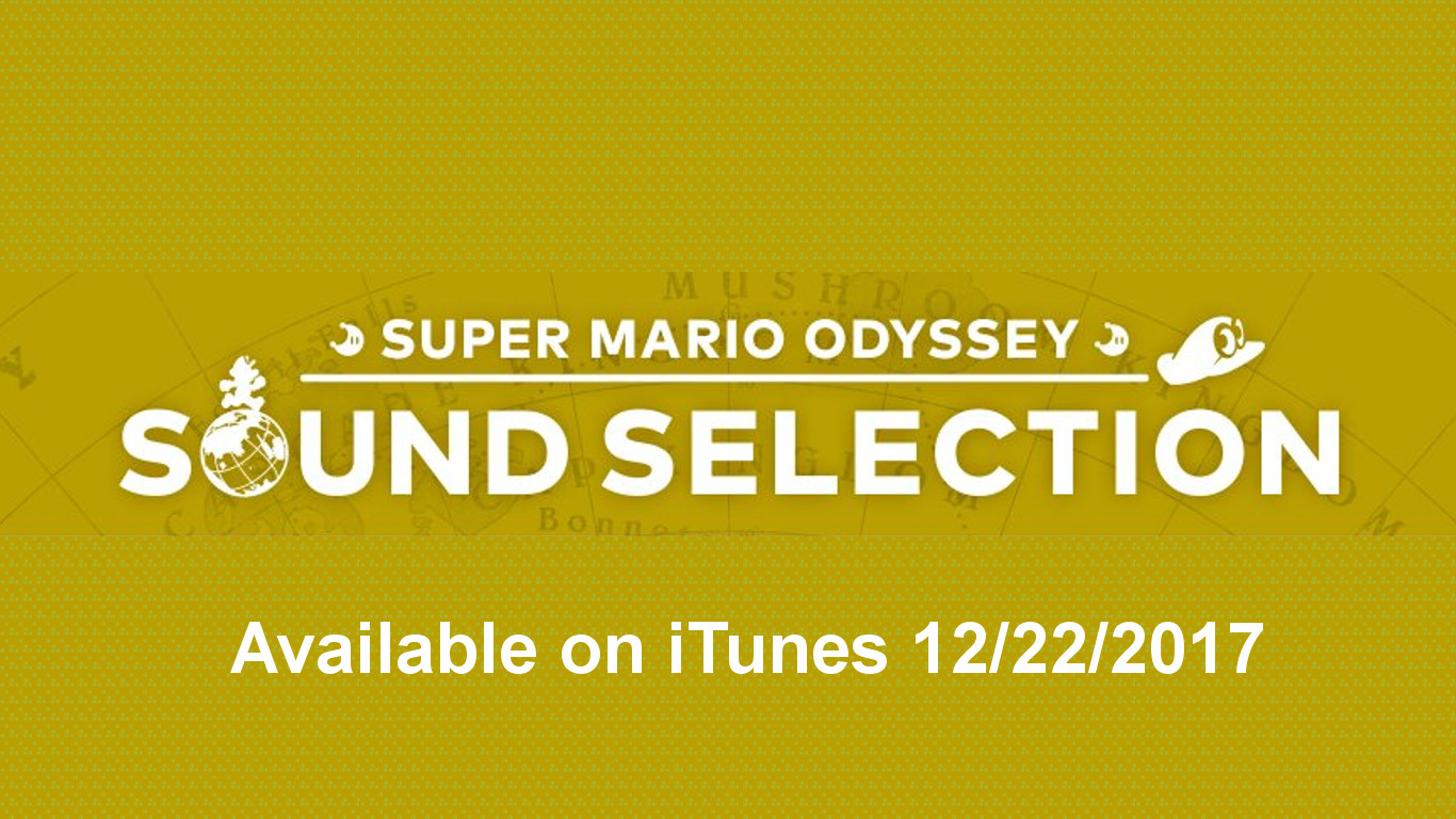 Super Mario Odyssey Music Selections Available on iTunes