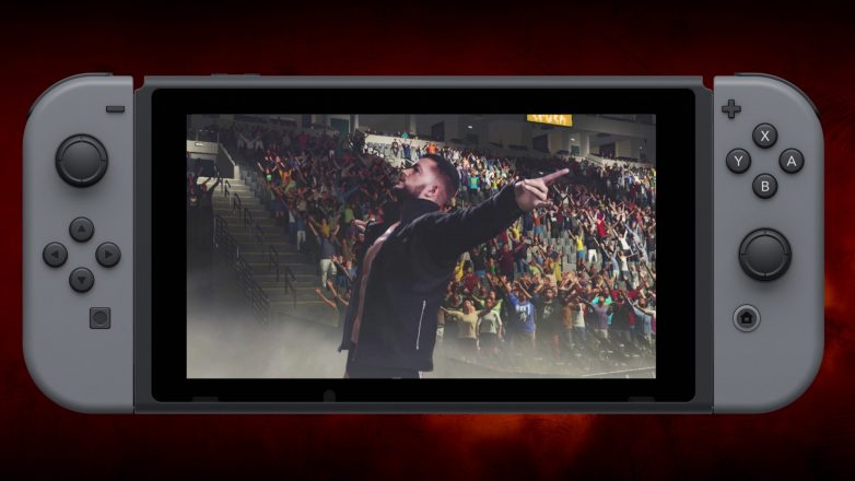 WWE 2K18 nintendo switch