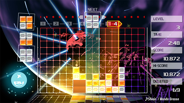 LUMINES REMASTERED Nintendo Switch