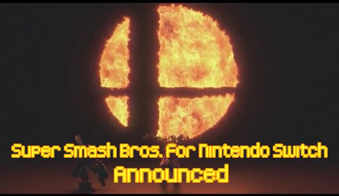 Super Smash Bros for Nintendo Switch