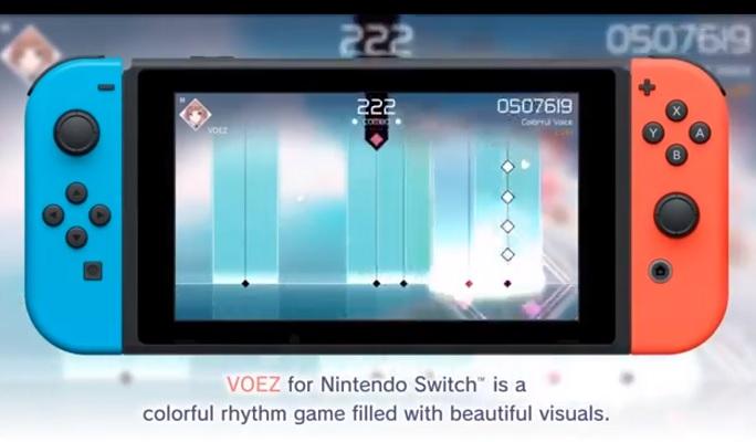 VOEZ Nintendo Switch Retail Version