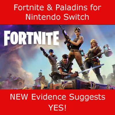 Leaked eShop Listings for Nintendo Switch Fortnite & Paladins