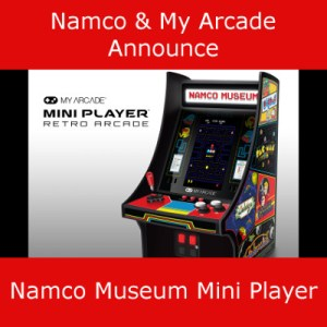 My Arcade Announce Namco Museum Mini Player