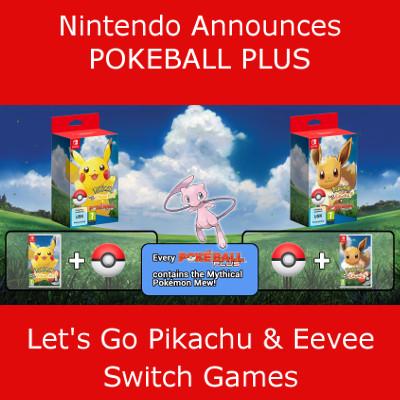 Poke Ball Plus Release Details