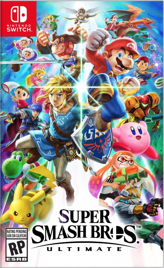 Super Smash Bros. Ultimate Switch box art