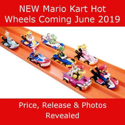 New Mario Kart Hot Wheels Coming Soon