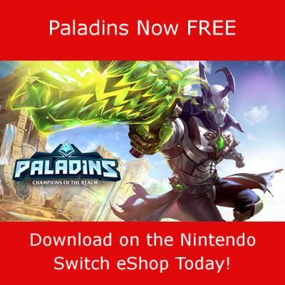 Paladins Switch eShop