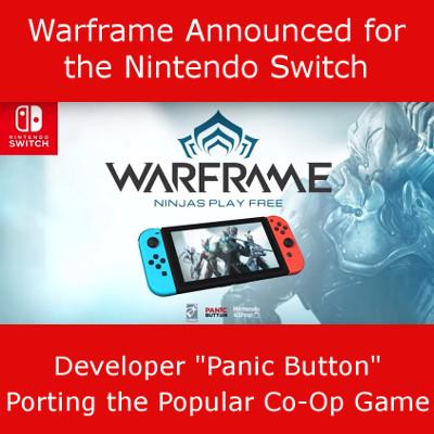 Warframe Nintendo Switch