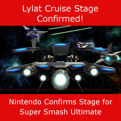 Lylat Cruise Stage confirmed for Super Smash Bros Ultimate for Switch
