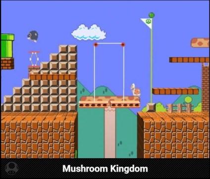 Mushroom Kingdom Stage