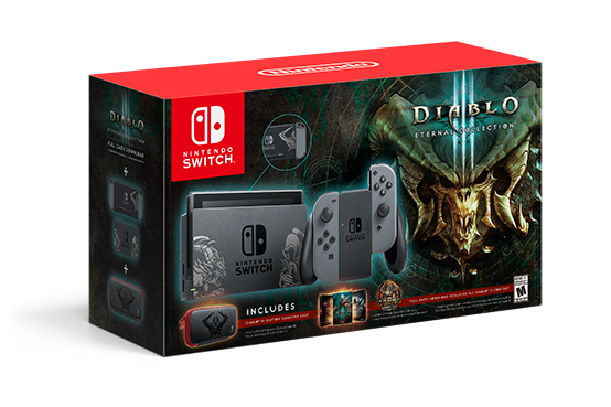 Nintendo Switch Diablo III system