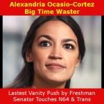Alexandria Ocasio-Cortez Big Time Waster on N64, Transgender Rights