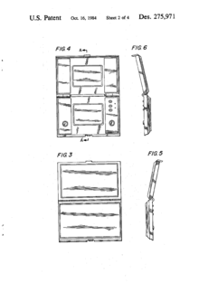 Patent for Game & Watch Dual Screen