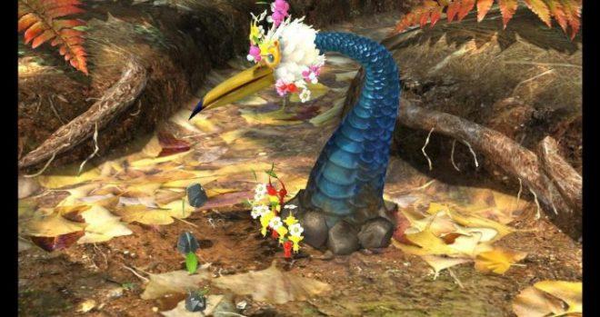 Screenshot - Pikmin - Boss Fight