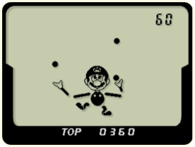 Classic Game & Watch Ball Game Starring Mario