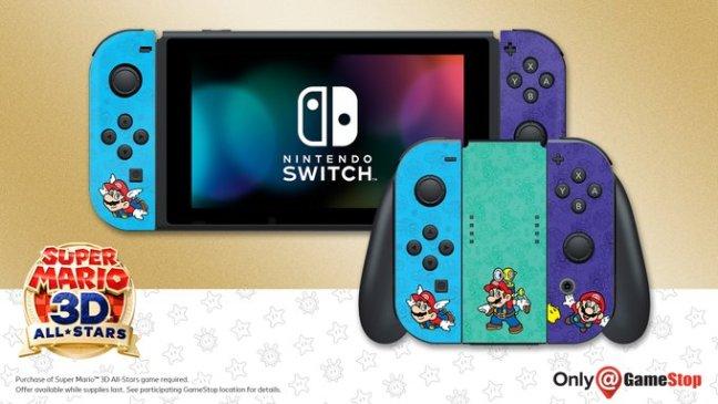 Mario themed Joy-Con covers
