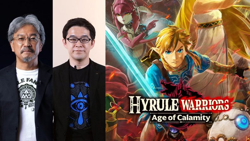 Nintendo Switch - Hyrule Warriors: Age of Calamity Announcement