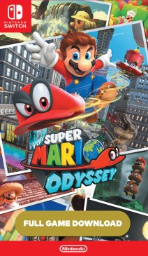 Download Code - Super Mario Odyssey for Nintendo Switch