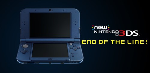 End of the Nintendo 3DS