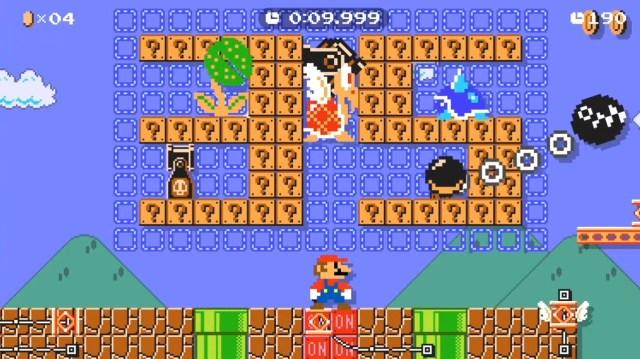 Super Mario Maker 2 - Super Mario 35th Anniversary Speed Run Courses