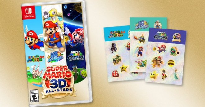 Super Mario 3D All Stars Preorder Info