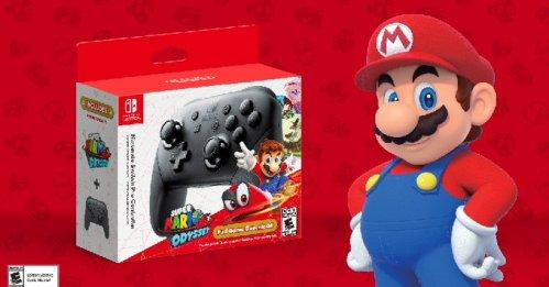 Super Mario Odyssey + Pro Controller