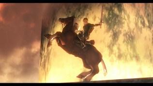 Link on Horse - Wii U Screenshot