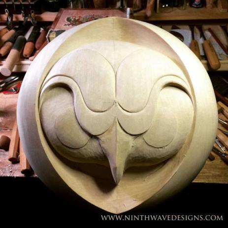 Refining the carving overall.