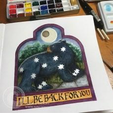 A watercolor painting in my watercolor sketchbook.