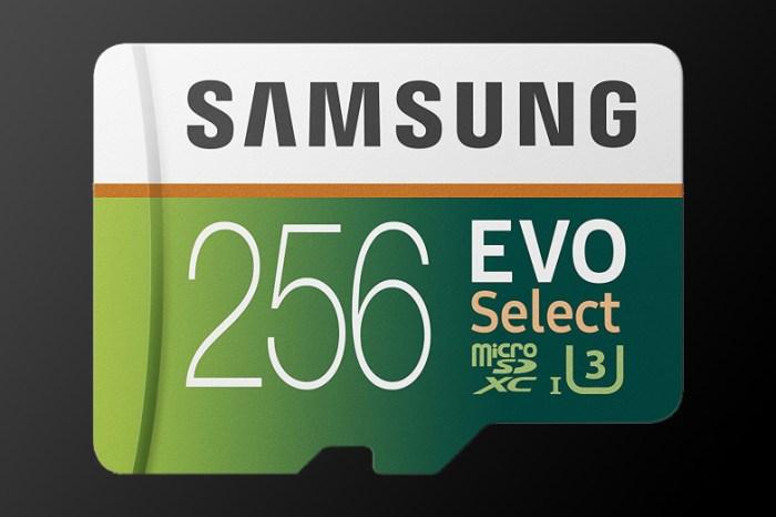 Samsung EVO Select MicroSD - $49.99 (was $119.99)