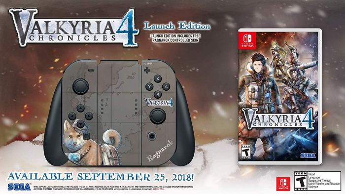 Valkyria Chronicles 4 Launch Edition- $36.96 (was $59.99)