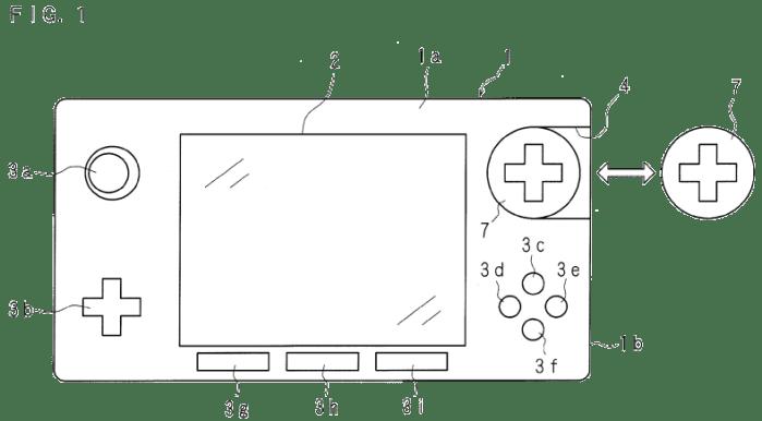 Nintendo modular controller patent