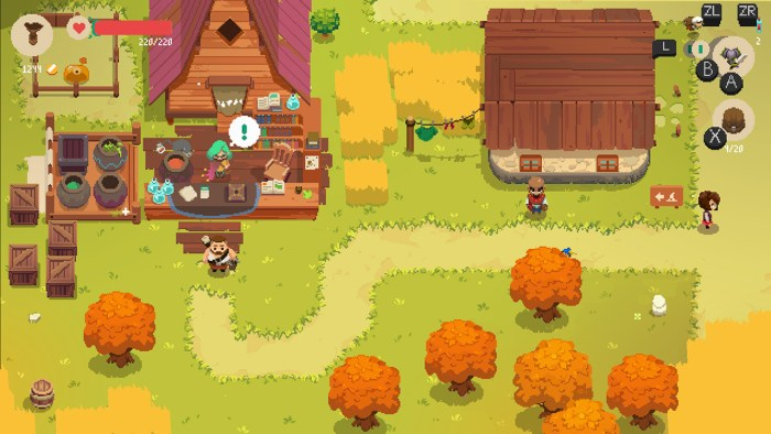 Moonlighter on Switch - great switch roguelikes