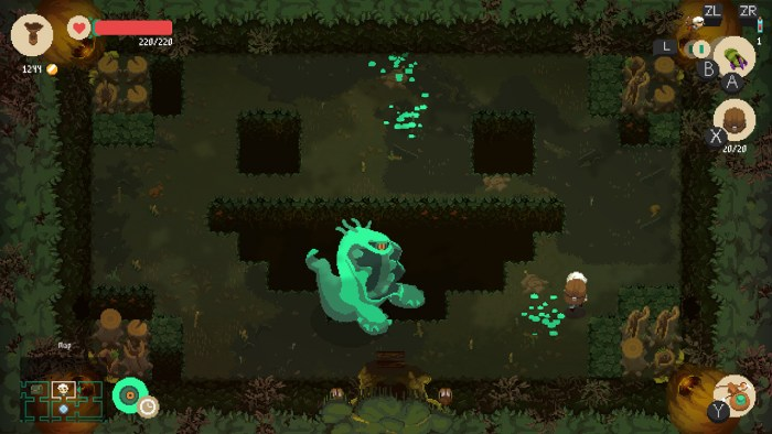 Moonlighter on Switch - best roguelikes