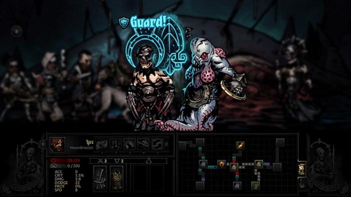 Darkest Dungeon Switch - roguelikes