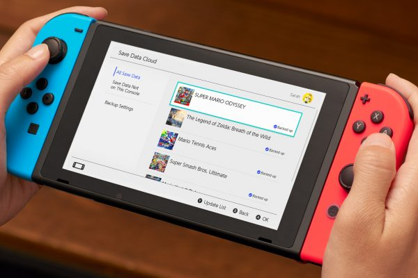 Switch games cloud saves