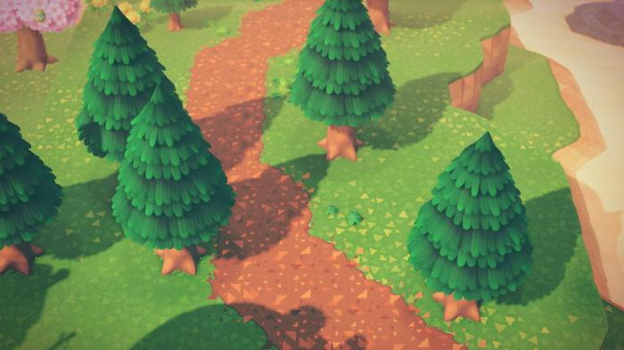 Animal Crossing patterns – dirt path