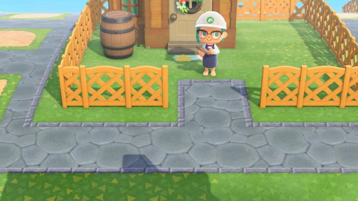 Animal Crossing patterns – stone path