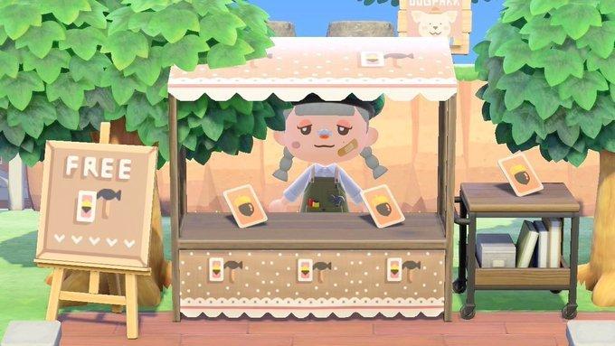 Animal Crossing patterns DIY recipe