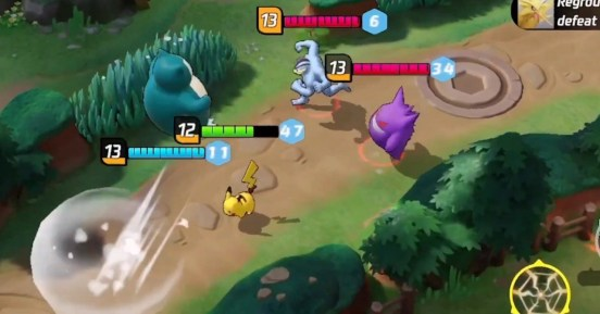 Pokemon Unite MOBA