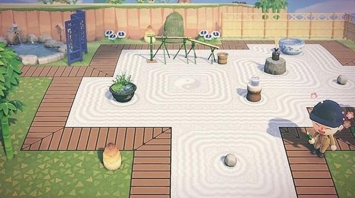 ACNH zen garden