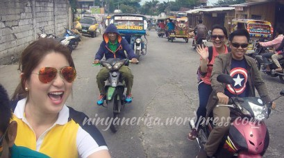Getting to know the city through a motorcycle ride