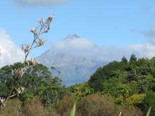 Le Taranaki et sa belle symétrie