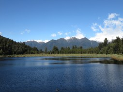 Lac miroir près de Fox