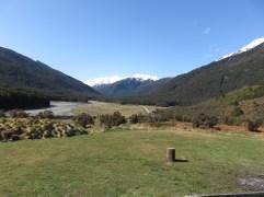 Sur la route de Wanaka depuis Fox Glacier.