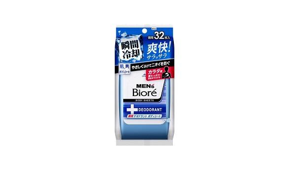 メンズビオレ 薬用デオドラントボディシート【医薬部外品】