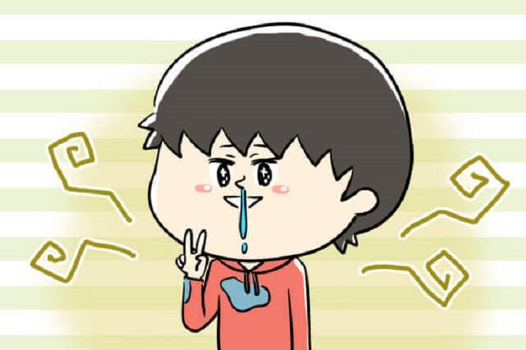 子供の鼻の臭いと病気予防!正しい鼻のかみ方と教え方