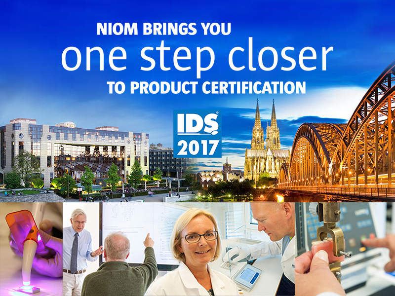 NIOM brings you one step closer to product certification