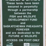 Provincial wildlife lands