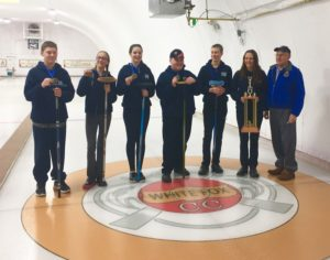 The winner of the Bonspiel was squadron #186 Lloydminster.
